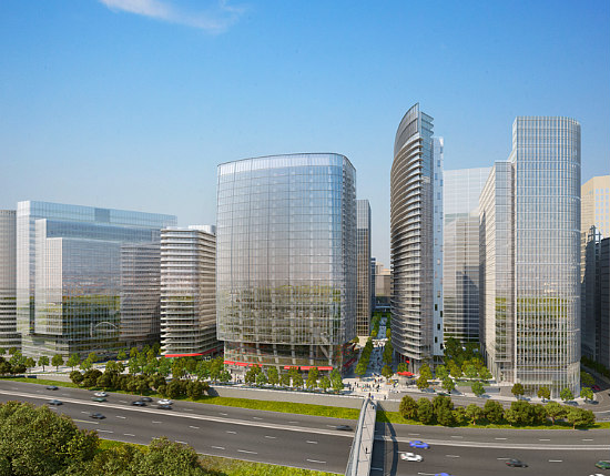 Arlington Looks to Approve Massive Rosslyn Plaza Redevelopment: Figure 1