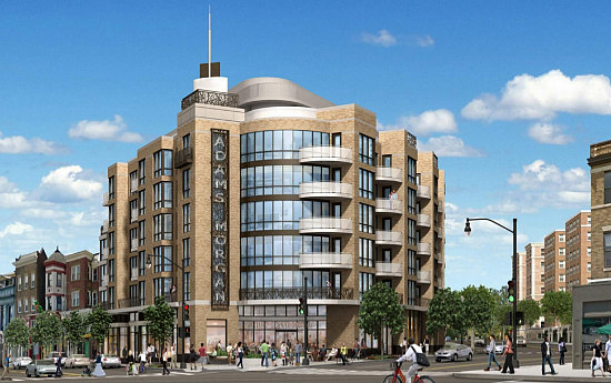 A Revised Plan For 58-Unit Development at Adams Morgan SunTrust Plaza: Figure 1