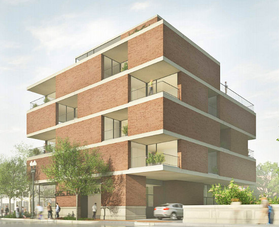 New Renderings For Eastbanc's 7-Unit Project on the Edge of Georgetown: Figure 1