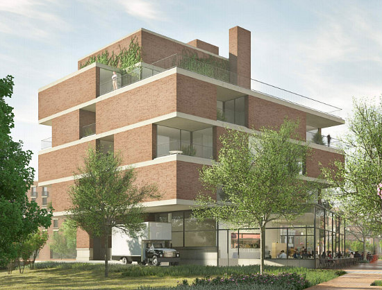 New Renderings For Eastbanc's 7-Unit Project on the Edge of Georgetown: Figure 4