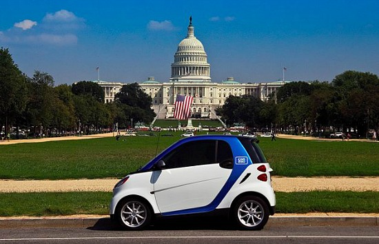 Arlington Car2Go Users May Soon Be Able to Pick Up and Drop Off Cars in DC: Figure 1