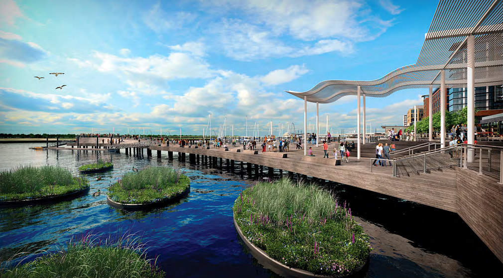 New Renderings Released For The 7th Street Pier At The Wharf