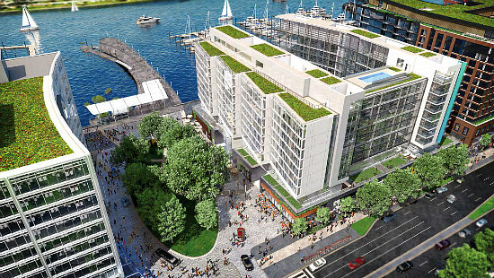 New Renderings Released for the 7th Street Pier at The Wharf: Figure 3