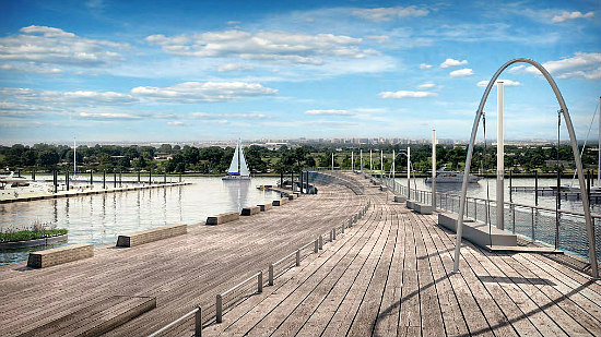 New Renderings Released for the 7th Street Pier at The Wharf: Figure 4