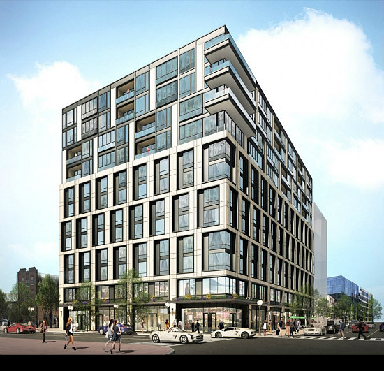 From Luxury Hotels to Affordable Housing: The Development on Tap for Mount Vernon Triangle/Chinatown: Figure 1