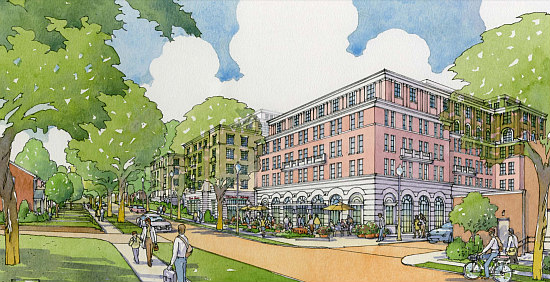 A New Look for AU Park's Superfresh Development with Fewer Units, Smaller Grocer: Figure 3