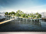 Construction to Begin on NYC's Floating Public Park