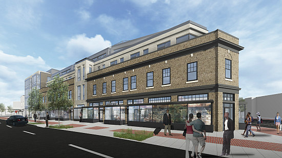 A Slightly New Look For Frager's Hardware Redevelopment: Figure 1