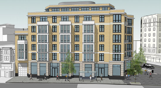 PN Hoffman Files Plans For 60-Unit Project at Adams Morgan's Central Intersection: Figure 1