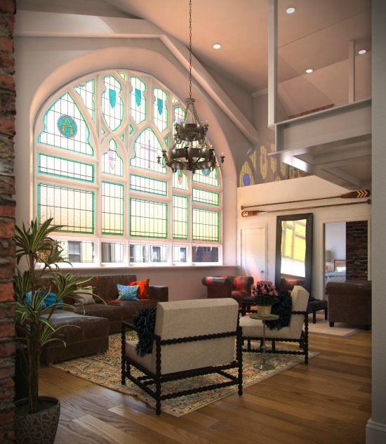 Sales Underway for 30 Capitol Hill Condos in a Former Gothic Church: Figure 3