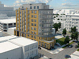 64 Residences and Potential Space For Union Kitchen At New NoMa Project