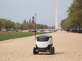 Drones on Wheels: DC's Newest Delivery Technology