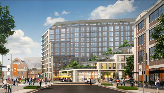 280 Units, A Hotel and Plenty of Retail: Forest City Files Plans At The Yards: Figure 2