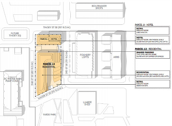 280 Units, A Hotel and Plenty of Retail: Forest City Files Plans At The Yards: Figure 3