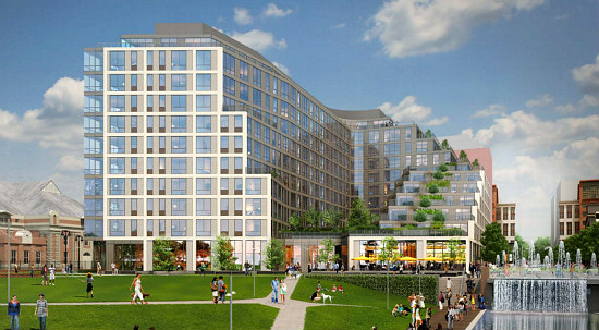 280 Units, A Hotel and Plenty of Retail: Forest City Files Plans At The Yards: Figure 1