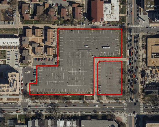 1,000 Apartments, A Charter School, Athletic Space Galore: The 8 Proposals for Northwest One: Figure 1