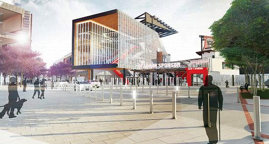 The Evolving Design of the New DC United Stadium: Figure 1