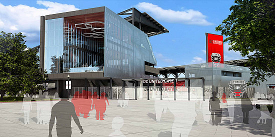 The Evolving Design of the New DC United Stadium: Figure 2