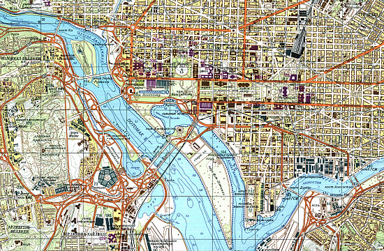 The Nation's Capital, Courtesy of Cold War Cartography: Figure 1