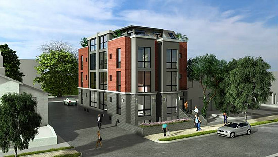 46 Units Will Replace Capitol Hill Church and Adjacent Rowhouses: Figure 1