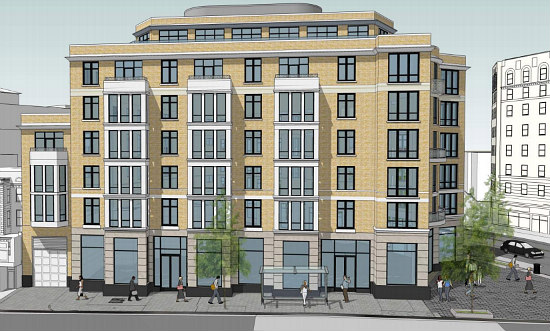 A First Look at the New Design for Adams Morgan's SunTrust Bank Redevelopment: Figure 3
