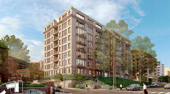 A New Look for 110-Unit Project Across From Meridian Hill Park: Figure 2
