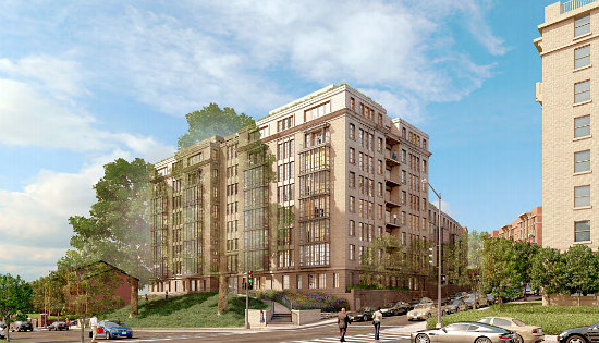 A New Look for 110-Unit Project Across From Meridian Hill Park: Figure 4