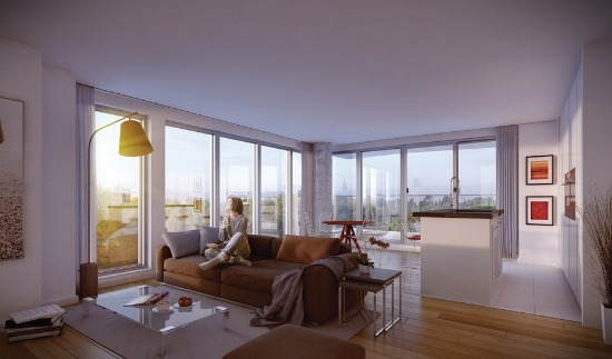 Size Meets Luxury at NoMa's First and Only High-Rise Condominium: Figure 2