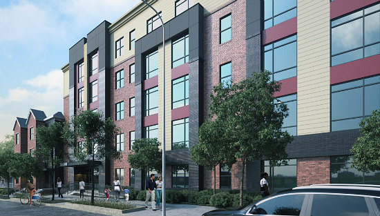New 59-Unit Residential Development Planned East of the River: Figure 1