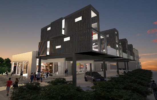 Former Brookland Safeway to Become Shipping Container Condos: Figure 2