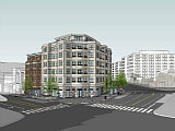 A First Look at the New Design for Adams Morgan's SunTrust Bank Redevelopment