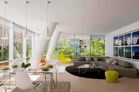 New Renderings Offer Glimpse Inside Eastbanc's Westlight Condos: Figure 3