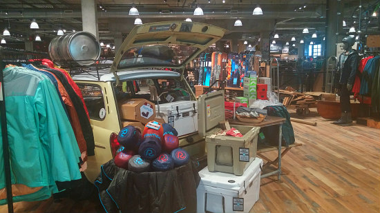 A Look Inside DC's REI Store at Uline Arena: Figure 1