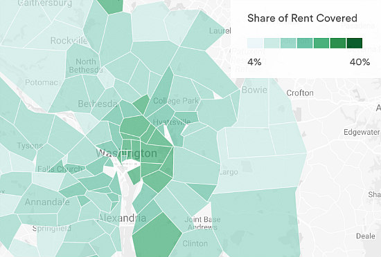Airbnb Launches Calculator to Help Pay The Rent: Figure 1