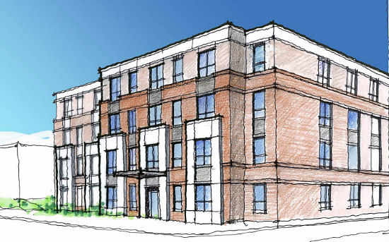 Two Similar Design Options for Peebles' Affordable Housing in Anacostia: Figure 2