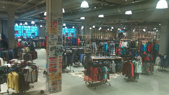 A Look Inside DC's REI Store at Uline Arena: Figure 2