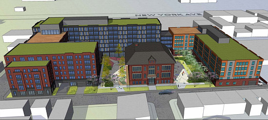 The Three Proposals to Transform the Crummell School in Ivy City: Figure 3