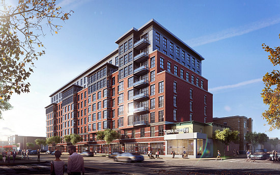 Valor Development Submits Plans to Bring 303 Apartments East of H Street: Figure 1
