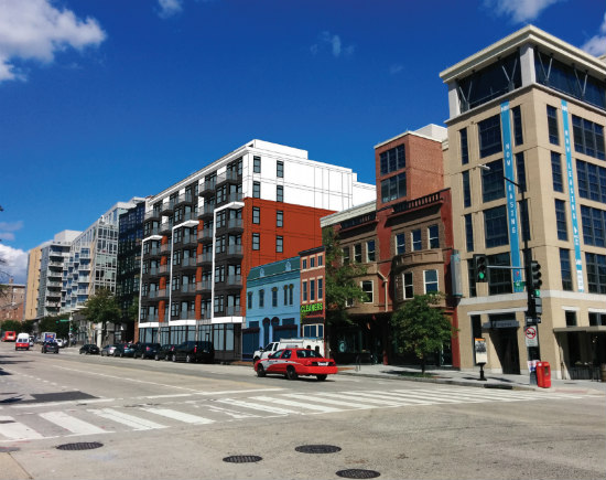 New Renderings Show How 40-50 Unit Development Would Fit Into 14th Street: Figure 1