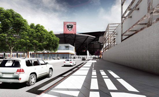 The New Design For the DC United Stadium Includes More Retail and a Public Park: Figure 4