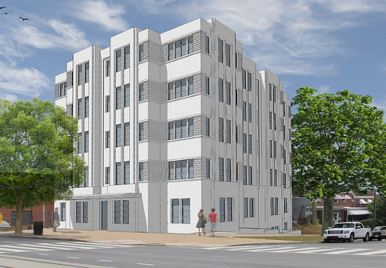 Tire Shop to Make Way For 31-Unit Development on Benning Road: Figure 1