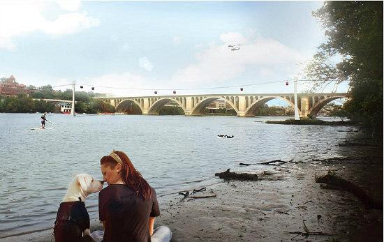 The Georgetown-Rosslyn Gondola is Deemed Feasible: Figure 2