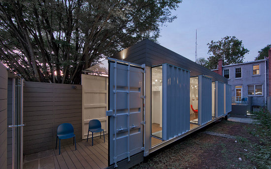 Art Accessory: Inside DC's Shipping Container Artist Studio: Figure 1