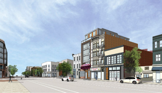More Refined Renderings Revealed for Proposed Barrel House Apartments: Figure 2