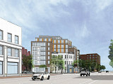 Renderings Reveal Design For Barrel House Liquor Redevelopment in Logan Circle