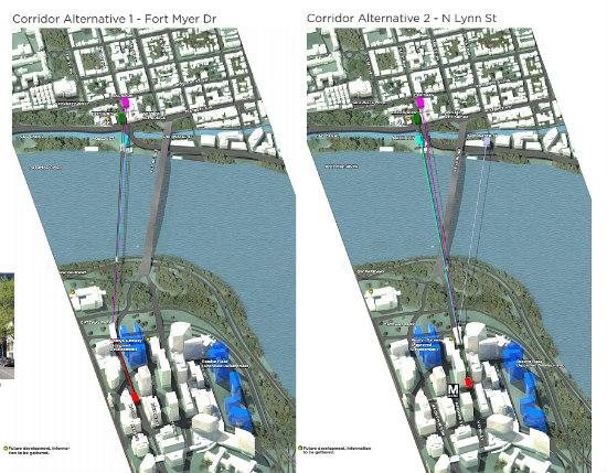 The Georgetown-Rosslyn Gondola is Deemed Feasible: Figure 3
