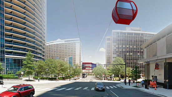 Arlington County Does Not Support a Rosslyn-Georgetown Gondola: Figure 2