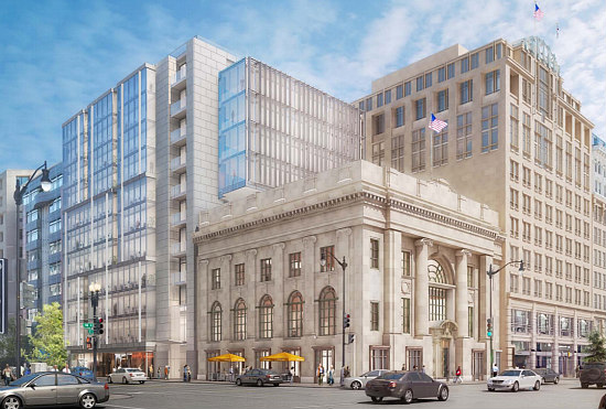 Office, Retail Planned For Landmark National Bank of Washington: Figure 1