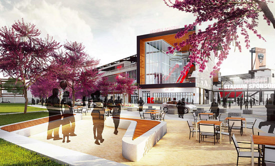 The New Design For the DC United Stadium Includes More Retail and a Public Park: Figure 3