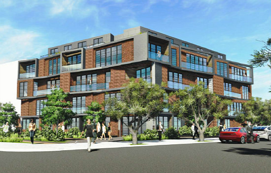 75-Unit Apartment Project Planned For the End of Barracks Row: Figure 1